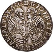 ½ Thaler - Joachim II Ernst and Bernhard VII – obverse