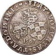 ½ Thaler - Joachim II Ernst and Bernhard VII – reverse