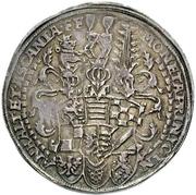 1 Thaler - Johann Georg I, Christian I, Bernhard VIII, August, Rudolf, Johann Ernst and Ludwig – obverse