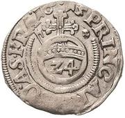 1 Groschen - Johann Georg I., Christian I., August, Rudolf and Ludwig – reverse