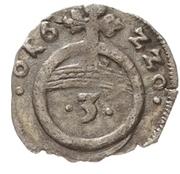 1 Dreier - Christian I., August, Ludwig, Johann Casimir  and Georg Albert – reverse