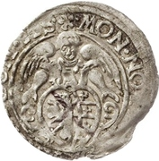 12 Kreuzer - Christian I., August, Rudolf and Ludwig (Kipper) – obverse