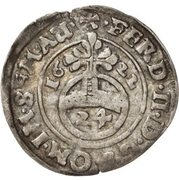 1 Groschen - Christian I, August, Ludwig, Johann Casimir, Georg Aribert and Johann – reverse