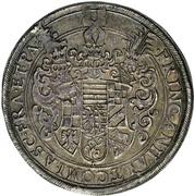 1 Thaler - Christian I. von Bernburg, August von Plötzkau, Ludwig von Köthen and their nefews – obverse