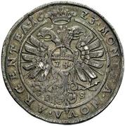 1 Thaler - Christian I. von Bernburg, August von Plötzkau, Ludwig von Köthen and their nefews – reverse