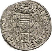 8 Gute Groschen - Johann Georg II., Victor Amadeus, Wilhelm, Carl Wilhelm and Emanuel Lebrecht – obverse