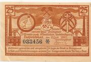 25 Pfennig (Leopoldshall) -  obverse