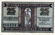 25 Pfennig (Gernrode im Harz) -  obverse