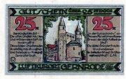25 Pfennig (Gernrode im Harz) -  reverse