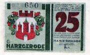 25 Pfennig (Harzgerode) -  obverse