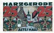 25 Pfennig (Harzgerode) -  reverse