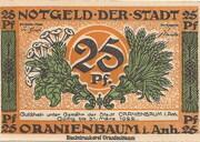 25 Pfennig (Oranienbaum) -  obverse