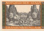 25 Pfennig (Oranienbaum) -  reverse