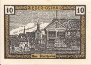 10 Pfennig (Rieder am Ostharz) -  reverse