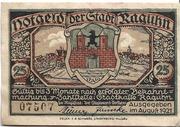 25 Pfennig (Raguhn) – obverse