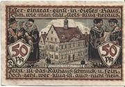50 Pfennig (Raguhn) – reverse