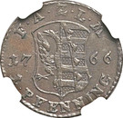 1 Pfenning - Friedrich August – reverse