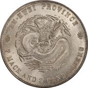 1 Yuan - Guangxu (Eight characters) – reverse