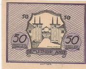 50 Heller (Anif) – reverse