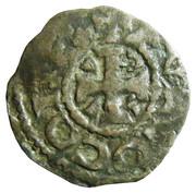 Denier du comté d'Anjou - Foulques IV(1060-1109) ou Foulques V(1109-1129) -  obverse