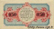 50 Centimes - Chamber of Commerce of Avignon – reverse