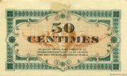 50 centimes - Chambre de commerce d'Annonay [07] – reverse