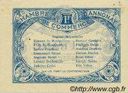 1 franc - Chambre de commerce d'Annonay [07] – reverse