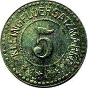 5 Pfennig - Annweiler – reverse