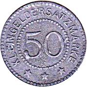 50 Pfennig - Annweiler – reverse