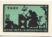 25 Pfennig – reverse