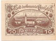10 Heller (Ansfelden) – obverse