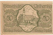 50 Heller (Anthering) -  reverse