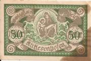 50 Heller (Antiesenhofen) – obverse
