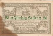 50 Heller (Antiesenhofen) – reverse