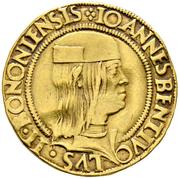 2 Ducat - Giovanni Bentivoglio II – obverse