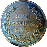 1 Farthing (Hannay and Coltart) -  reverse