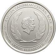 2 Dollars - Elizabeth II (Rum Runner) -  obverse