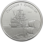 2 Dollars - Elizabeth II (Rum Runner) -  reverse