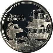 2 Dollars - Elizabeth II (Rum Runner) – reverse