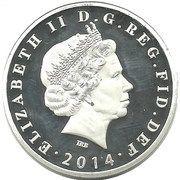 1 Dollar - Elizabeth II – obverse