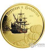 10 Dollars - Elizabeth II (Rum Runner) – reverse