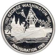 30 Dollars - Elizabeth II (Inauguration) -  reverse