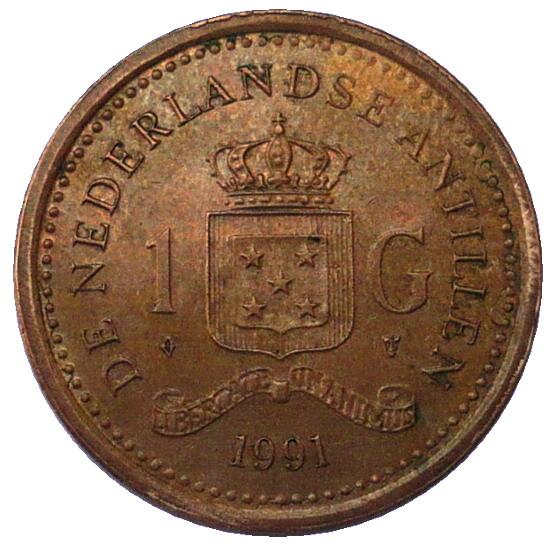 de nederlandse antillen 1 g coin value