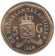 5 Gulden - Beatrix -  reverse