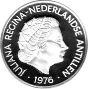 25 Gulden - Juliana (U.S. Bicentennial) – obverse