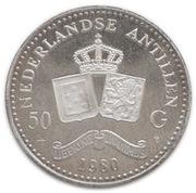 50 Gulden - Beatrix – reverse