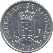 1 Cent - Juliana/Beatrix -  obverse