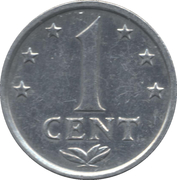 1 Cent - Juliana/Beatrix -  reverse