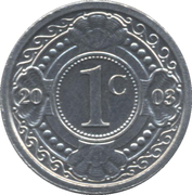 1 Cent - Beatrix/Willem-Alexander -  reverse
