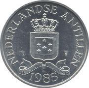 2½ Cents - Juliana / Beatrix – obverse